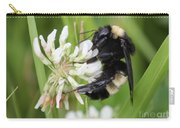 Bumble Bee By The Pond Carry-all Pouch