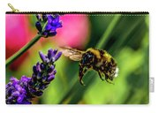 Bumble Bee In Flight Carry-all Pouch