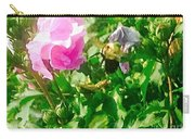 Bumble Bee In Mid Flight Carry-all Pouch