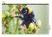 Bumble Bee On Flower Carry-all Pouch