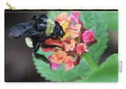 Bumble Bee Square Carry-all Pouch