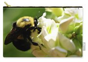 Bumble Bee Carry-all Pouch by Valeria Donaldson
