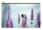 Bumblebee And Lavender Carry-all Pouch