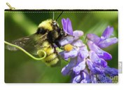 Bumblebee On A Blue Giant Hyssop Carry-all Pouch