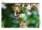 Bumblebee On Abelia Carry-all Pouch