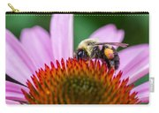 Bumblebee On Coneflower Carry-all Pouch