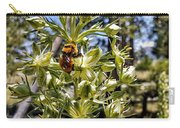 Bumblebee On Elkweed Blossoms Carry-all Pouch