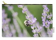 Bumblebee On The Lavender Field 2 Carry-all Pouch