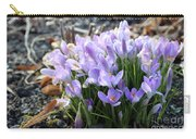 Bunch Of Crocuses Carry-all Pouch