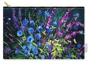 Bunch Of Wild Flowers Carry-all Pouch by Pol Ledent