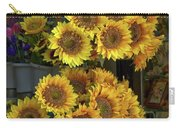 Bunches Of Sunflowers Carry-all Pouch