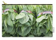 Bundled Spinach After Harvest Carry-all Pouch