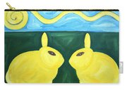 Bunnies Talking Carry-all Pouch