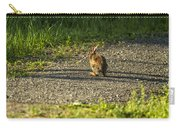 Bunny Eating On The Run Carry-all Pouch