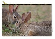 Bunny Encounter Carry-all Pouch