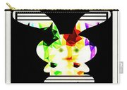 Bunny In Abstract Carry-all Pouch