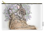 Bunny In Boot Carry-all Pouch