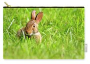 Bunny In Field  Carry-all Pouch