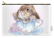 Bunny In Teacup Carry-all Pouch