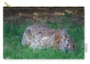 Bunny In The Backyard Carry-all Pouch