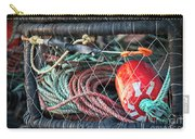 Buoy And Ropes Carry-all Pouch