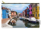 Burano Canal And Homes Carry-all Pouch