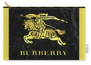 Burberry - Black And Gold - Lifestyle And Fashion Carry-all Pouch