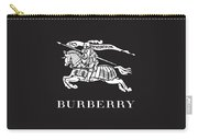 Burberry - Black And White - Lifestyle And Fashion Carry-all Pouch