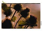 Burdock Silhouette Carry-all Pouch