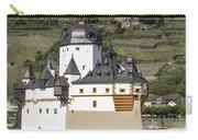 Burg Pfalzgrafenstein And Burg Gutenfals Squared Carry-all Pouch