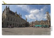 Burg Square In Bruges Belgium Carry-all Pouch