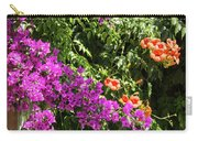 Burgazada Island Flower Color Carry-all Pouch