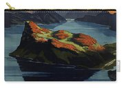 Burgenstock - Lake Lucerne - Switzerland - Retro Poster - Vintage Travel Advertising Poster Carry-all Pouch
