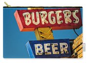 Burgers And Beer Carry-all Pouch