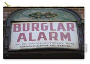 Burglar Alarm Carry-all Pouch