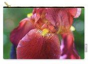 Burgundy Iris Carry-all Pouch