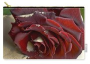 Burgundy Rose Carry-all Pouch