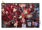 Burgundy Succulents. Multi Color Beauty Carry-all Pouch