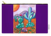 Buried Sugar Skull In Desert Carry-all Pouch