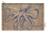 Burlap Octopus Carry-all Pouch
