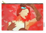 Burlesque Red Carry-all Pouch