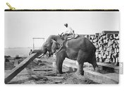 Burma: Elephant Carry-all Pouch