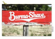 Burma Shave #1 Carry-all Pouch
