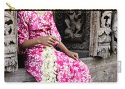 Burmese Flower Vendor Carry-all Pouch