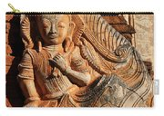 Burmese Pagoda Sculpture Carry-all Pouch