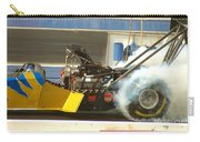 Burn Out On The Track Carry-all Pouch