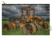 Burned Out Farm Tractor Carry-all Pouch