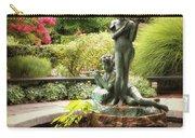 Burnett Fountain Garden Carry-all Pouch