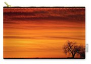 Burning Country Sky Carry-all Pouch