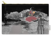 Burning House Destroyed By The Ss Soviet Union Number One 1941 Color Added 2016 Carry-all Pouch